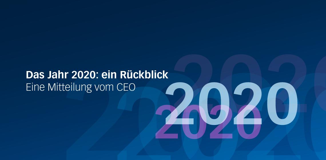 Das Jahr 2020: ein Rückblick