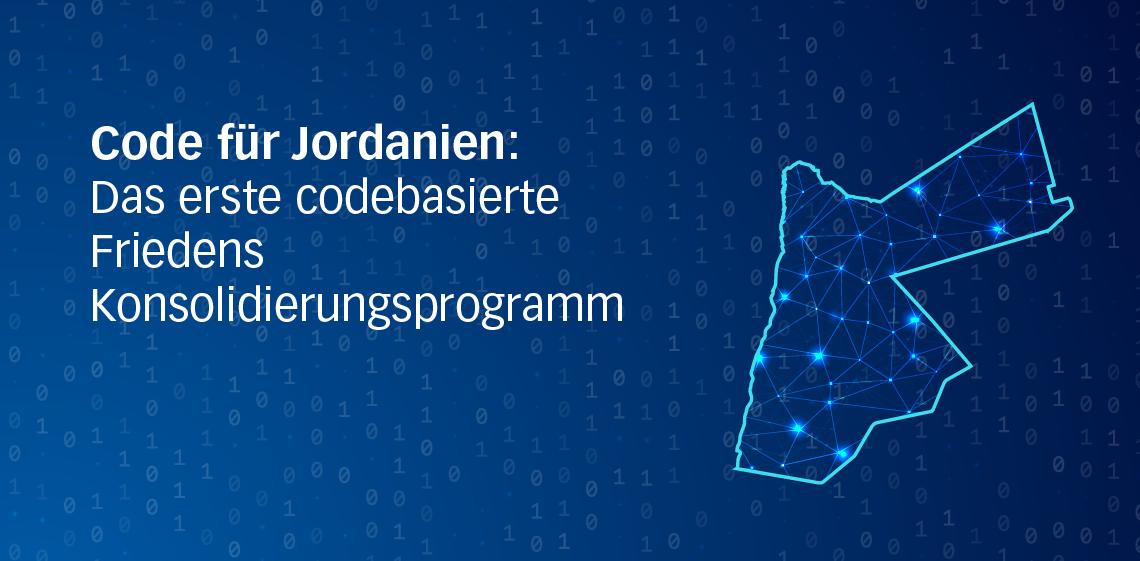 Code für Jordanien: Das erste codebasierte Friedenskonsoldierungsprogramm