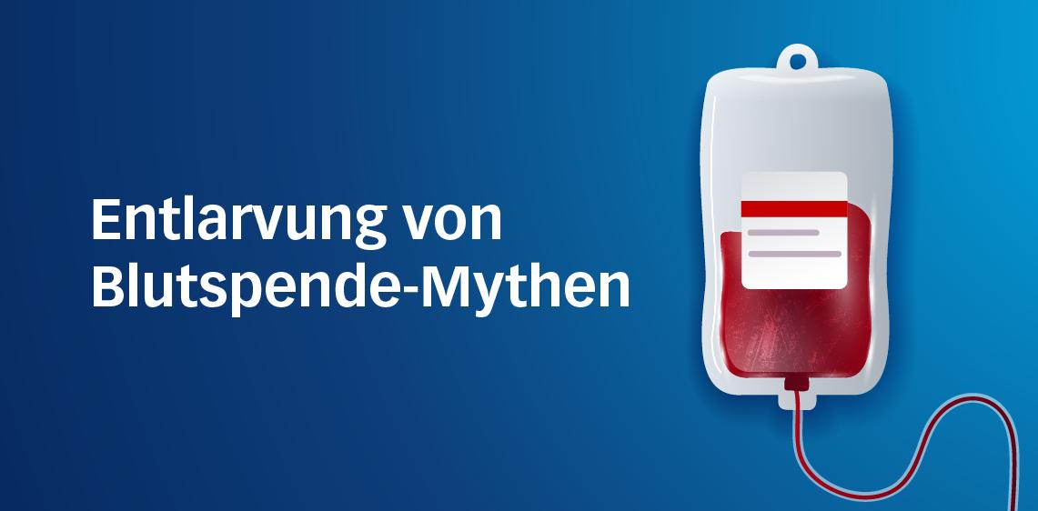 Entlarvung von Blutspende-Mythen