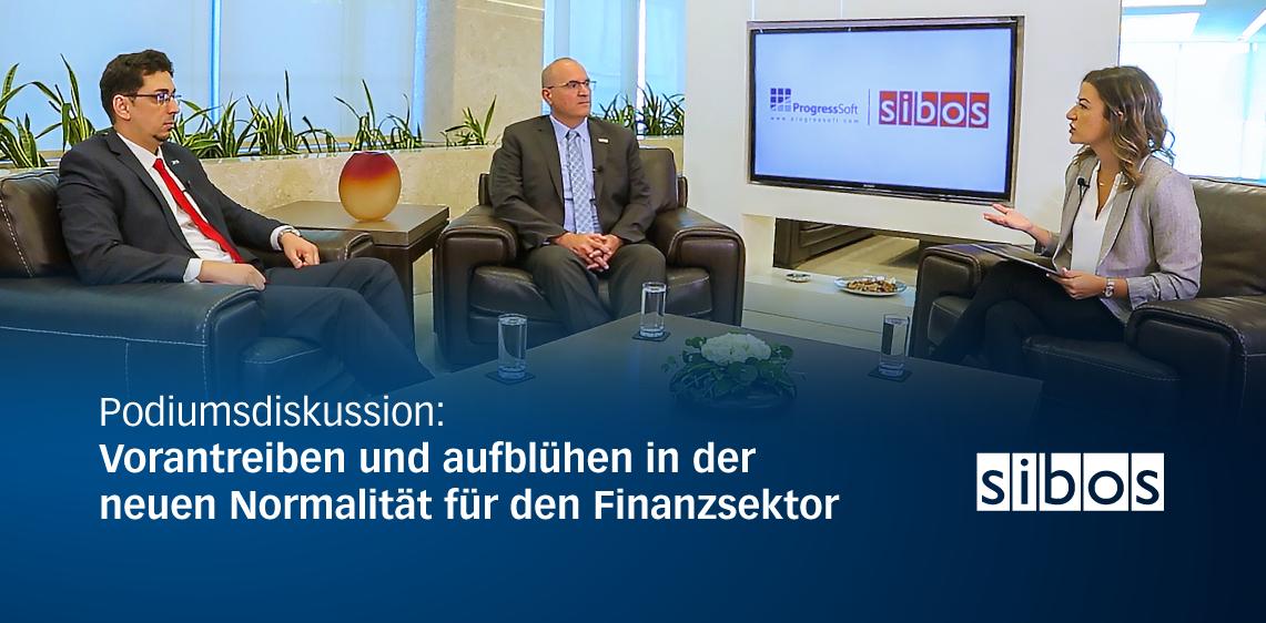 Podiumsdiskussion: Vorantreiben und aufblühen in der neuen Normalität für den Finanzsektor