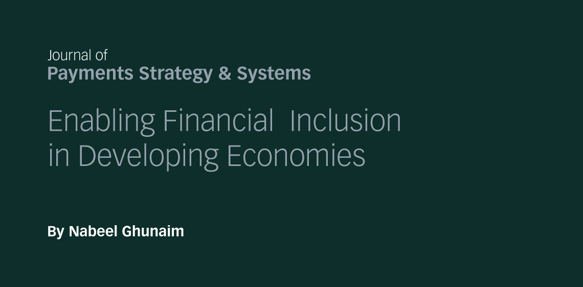 Enabling Financial Inclusion by Developing Economies