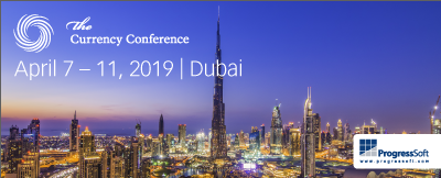 ProgressSoft at The Currency Conference 2019 in Dubai