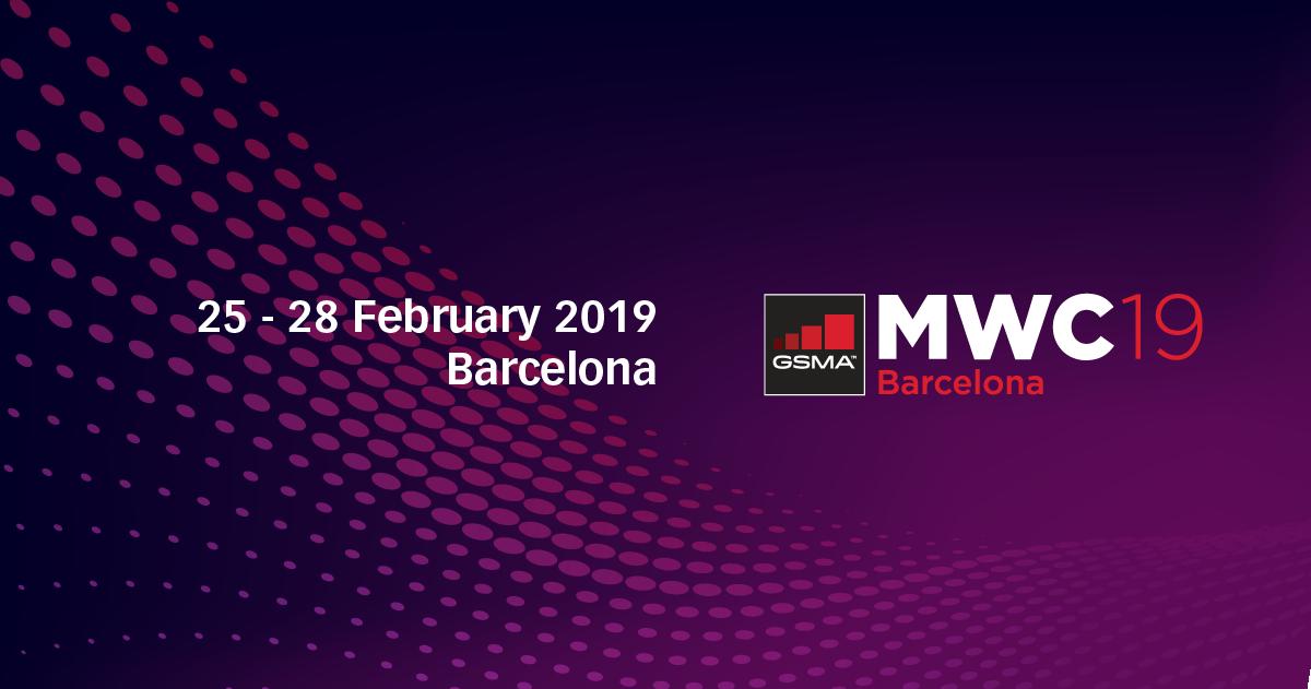 與ProgressSoft團隊在2018移動世界大會見面, 2019年2月25日至28日