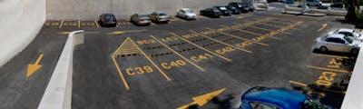 Lugares de estacionamiento