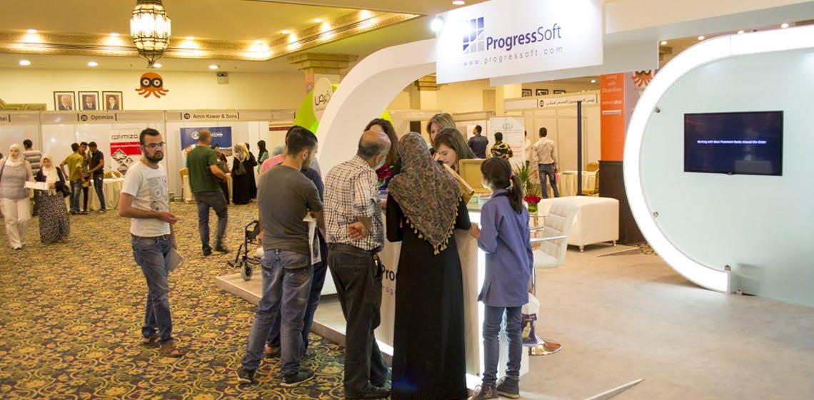 ProgressSoft patrocina la primera Feria de empleo para personas con discapacidades en Jordania