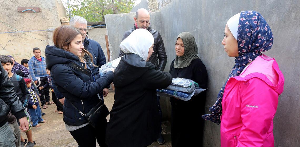 ProgressSoft patrocinador de la campaña de benéficiencia invernal 'Karamak Dafahom' en Jordania