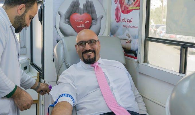 ProgressSoft、ヨルダンで第3回献血キャンペーンを実施