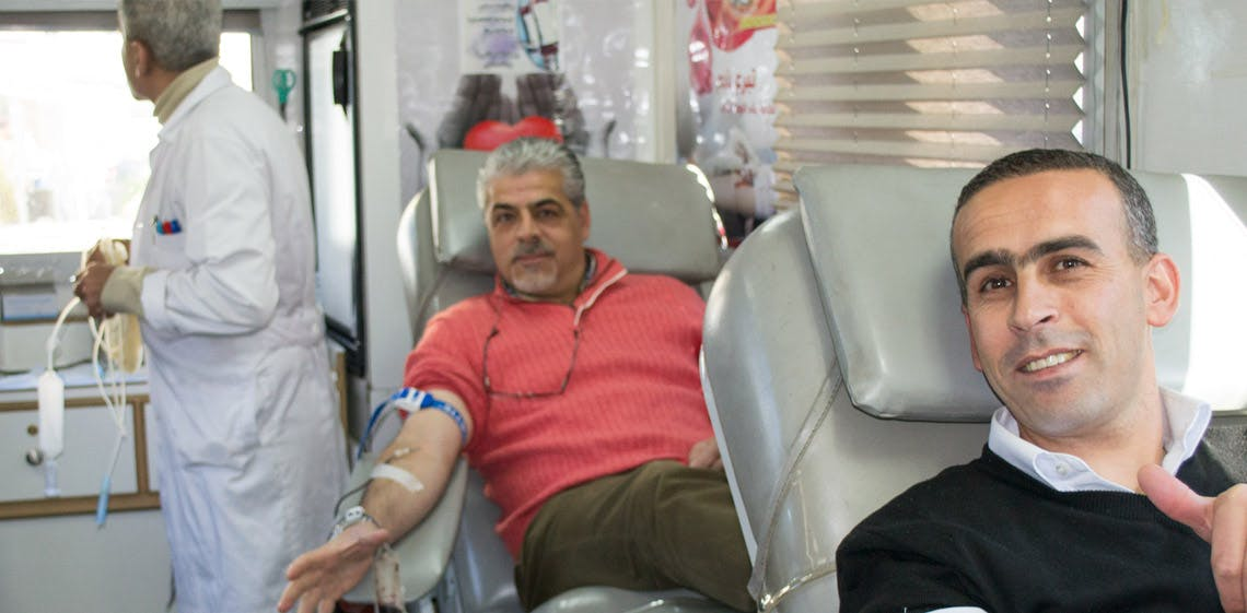 ProgressSoft組織了一次捐血活動