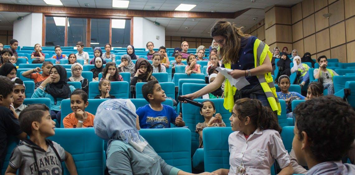 Спонсорская помощь от ProgressSoft – Ифтар для сирот в университете PSUT