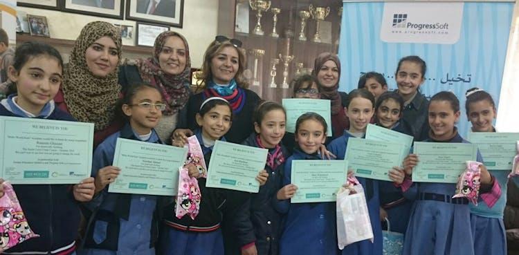 """""""Programa Piloto para escuelas Públicas""""  iniciativa patrocinada por ProgressSoft, Fase uno completada"""