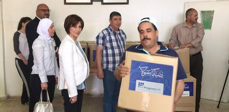 ProgressSoft en apoyo a las familias necesitadas en el mes santo de Ramadán