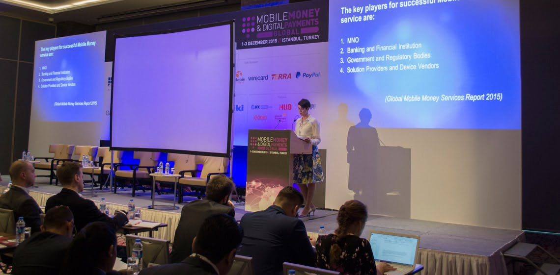 ProgressSoft выступил партнером по организации конференции Mobile Money & Digital Payments Global 2015