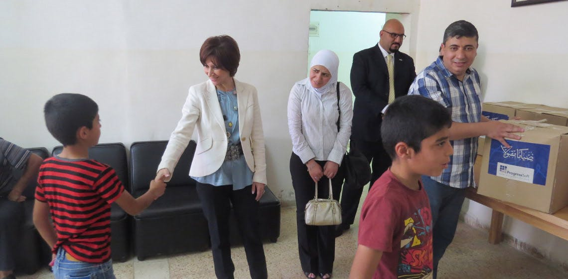 ProgressSoft unterstützt bedürftige Familien während des heiligen Monats Ramadan