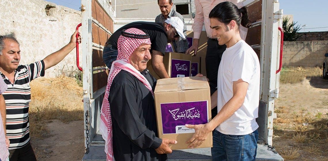 ProgressSoft coopera con MoICT por segundo año en apoyo a las familias necesitadas durante el mes sagrado del Ramadán