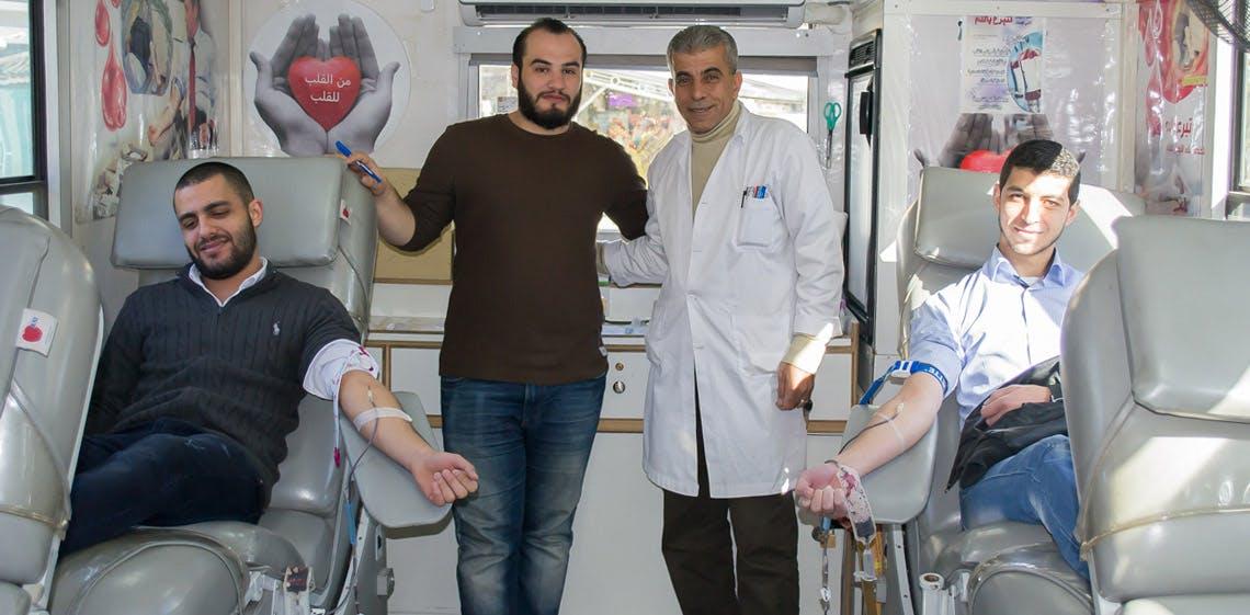 ProgressSoft organise une campagne de don de sang