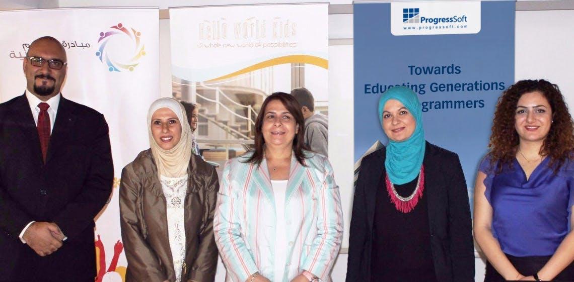 Инициатива «Пилотный проект по обучению программированию в государственных школах» при спонсорской поддержке ProgressSoft