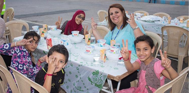 ProgressSoftSponserte Iftar für Waisenkinder an der PSUT