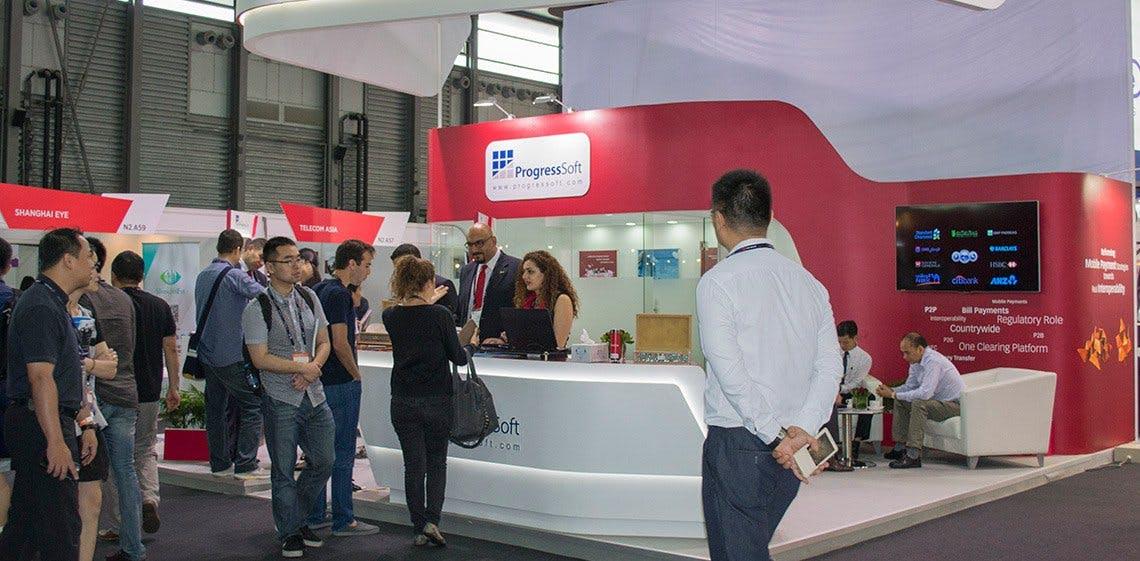 ProgressSoft presentó su portafolio de soluciones de Pagos Móviles en el Congreso Mundial de Pagos Móviles en Shanghai