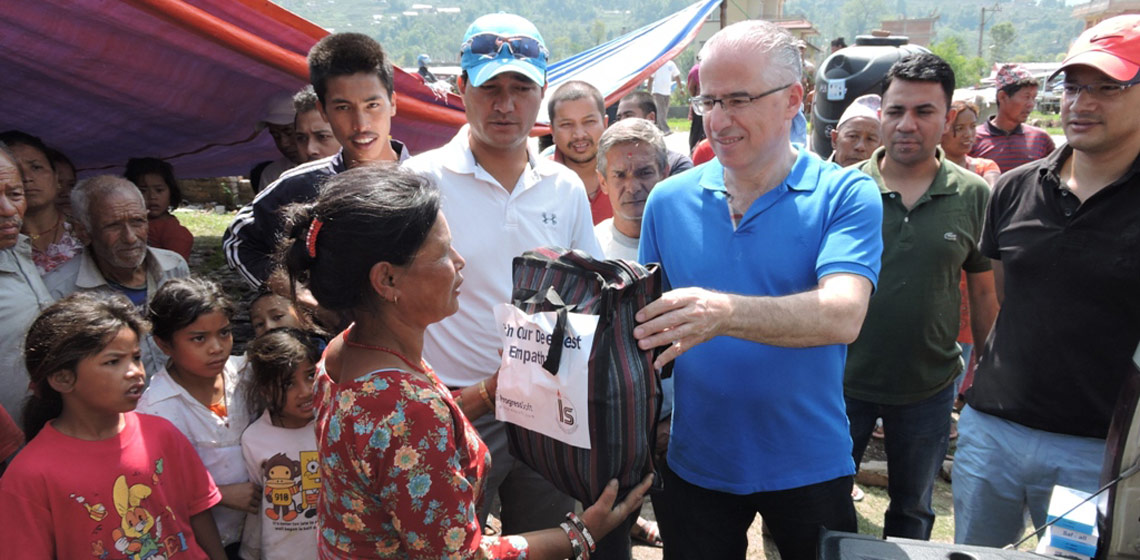 ProgressSoft e Integrated Solutions Ltd. Ajudam as Operações de Socorro Humanitário no Nepal