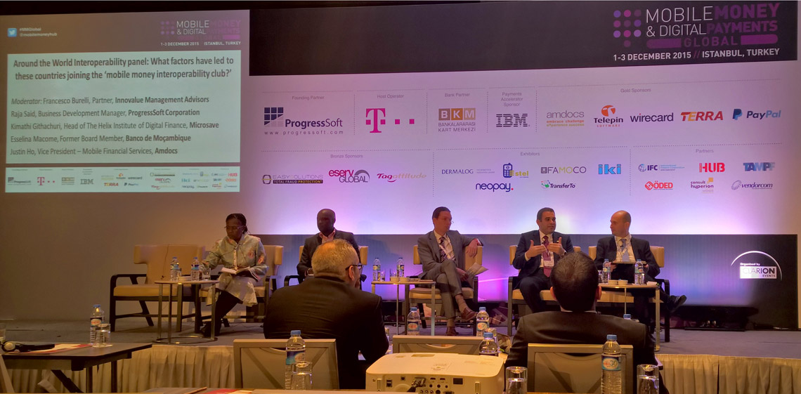 ProgressSoft als Gründungspartner von Mobile Money & Digital Payments Global 2015
