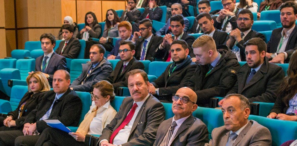 ProgressSoft 贊助蘇瑪雅公主科技大學2017年模擬聯合國大會