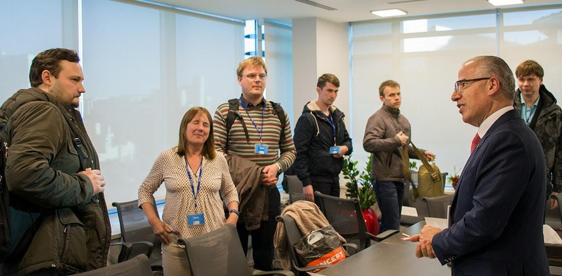 一個由來自世界各地的軟件工程教授組成的代表團訪問了 ProgressSoft