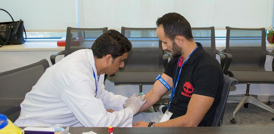 ProgressSoft fue el anfitrión y promotor de la campaña para concientizar a sus empleados sobre la diabetes y colesterol