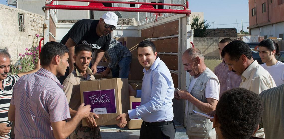 ProgressSoft、昨年に続き MoICT と協賛で聖なるラマダン月間に困窮する家族を支援
