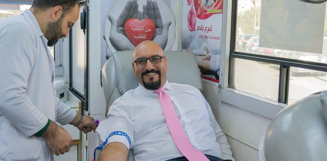 A ProgressSoft conclui a sua 3ª campanha de doação de sangue na Jordânia