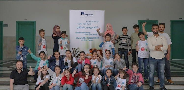 ProgressSoft continúa apoyando a los Programadores Educadores del Futuro en Jordania