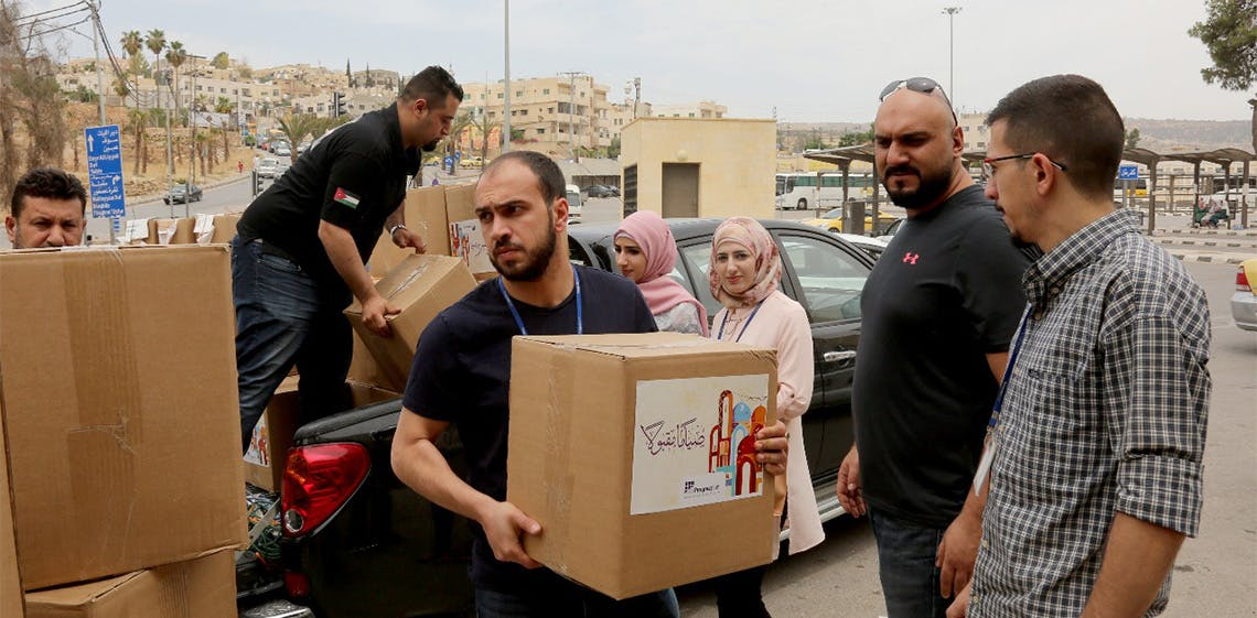 """ProgressSoft Patrocina Campanha de Caridade """"BilKhayr Najood"""" do MITC da Jordânia"""
