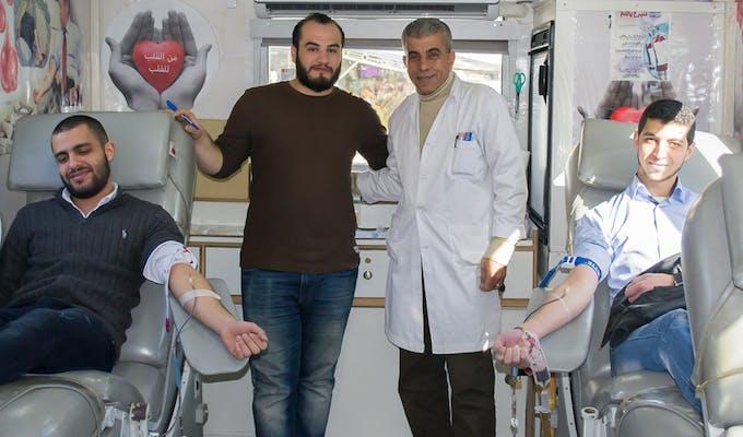 ProgressSoft Organizador de la Campaña de Donación de Sangre