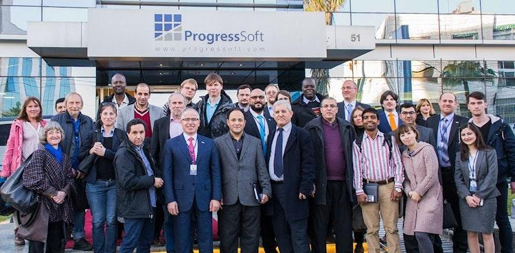 A Delegation of Software Engineering Professors around the World  Visits ProgressSoft Premises