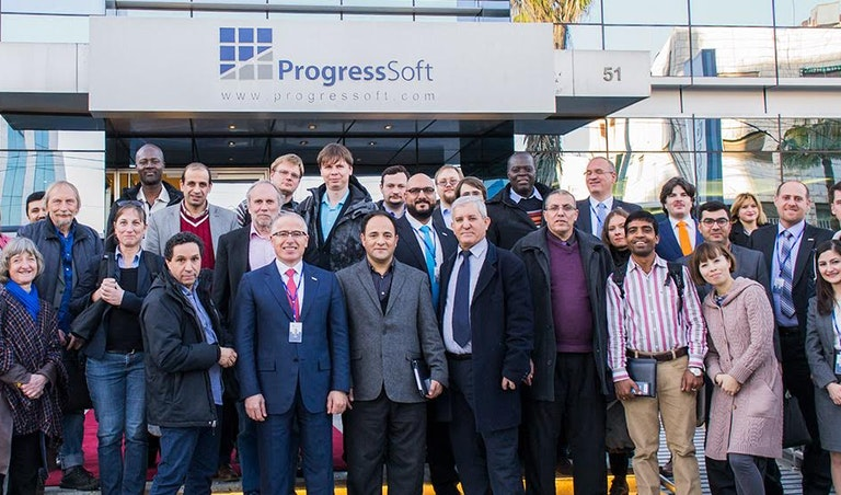 A Delegation of Software Engineering Professors around the World 
