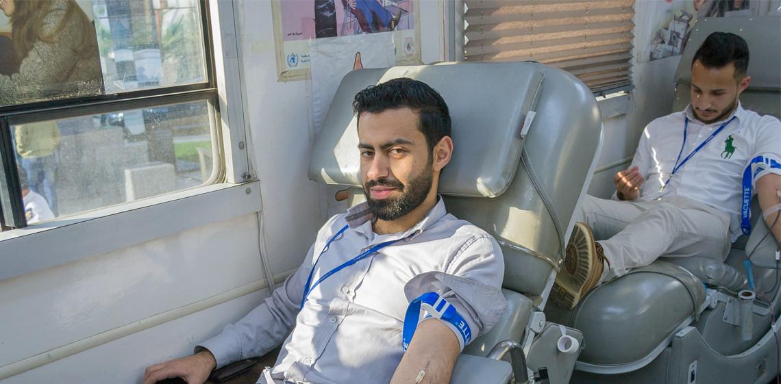 ProgressSoft завершает третью кампанию по сдаче крови в Иордании