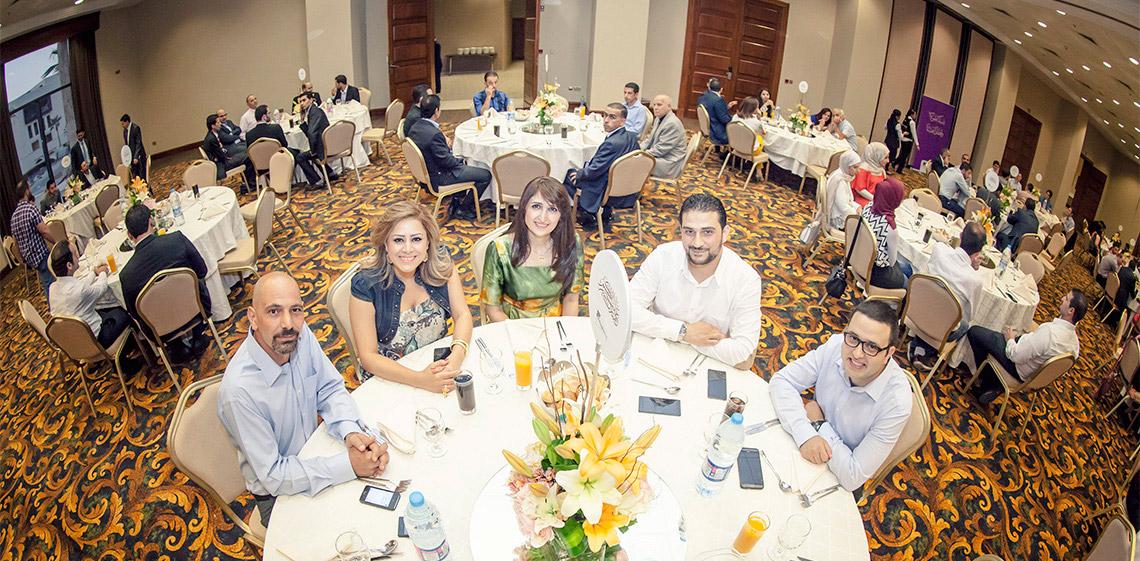 ProgressSoft organise sa célébration annuelle de l'Iftar au point le plus bas à la surface de la Terre