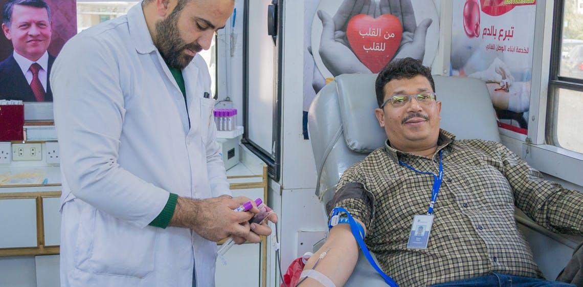 ProgressSoft schließt seine 3. Blutspendeaktion in Jordanien ab