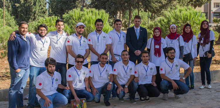 ProgressSoft as the Platinum Sponsor of the University of Jordan's ACM Collegiate Programming Contest