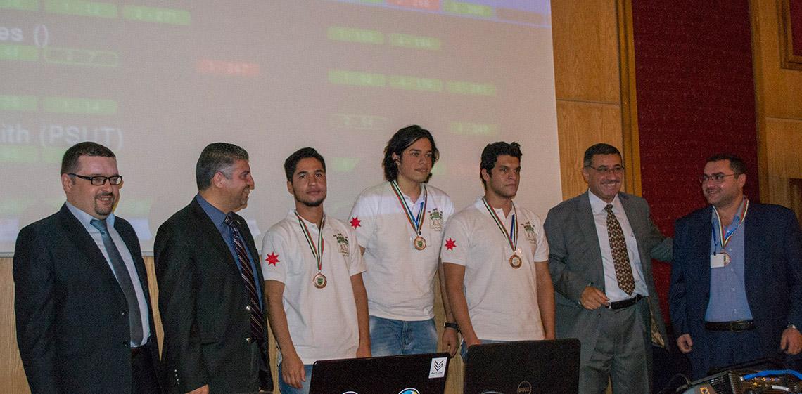 ProgressSoft as the Platinum Sponsor of the University of Jordan's ACM Collegiate Programming Contest