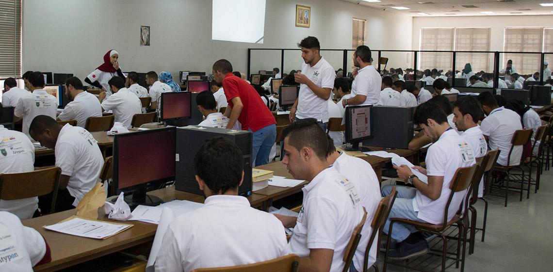 ProgressSoft 作為約旦大學ACM編程大賽白金贊助商