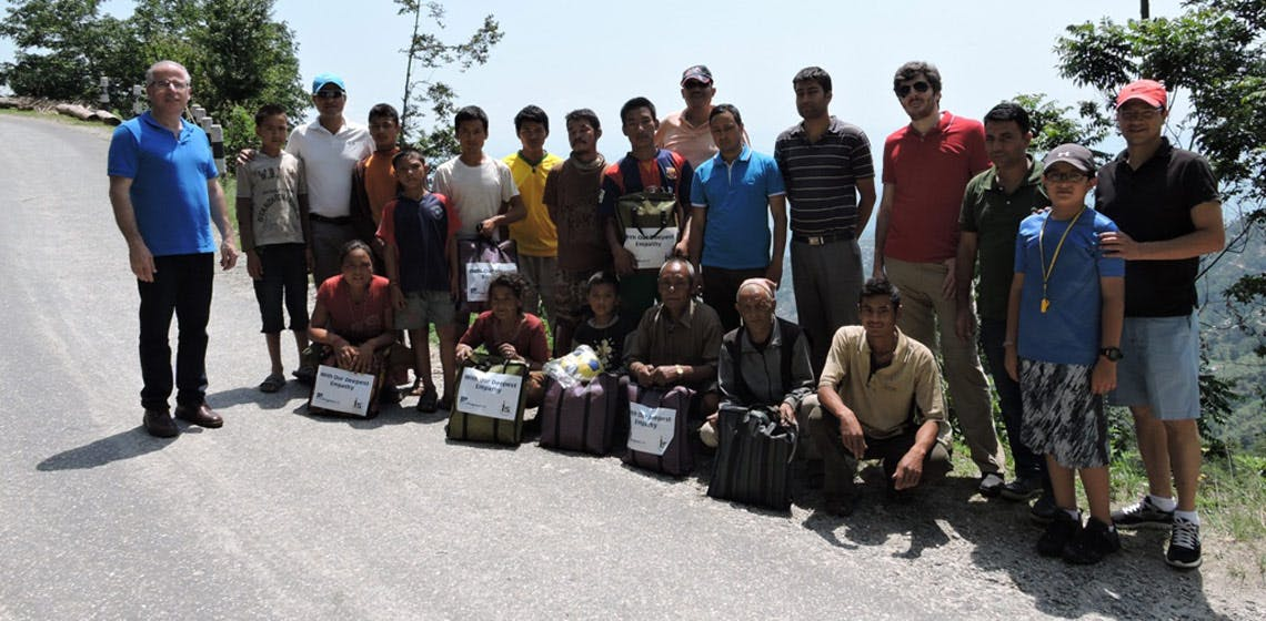 ProgressSoft e Integrated Solutions Ltd. Ajudam as Operações de Socorro Humanitário no Nepal