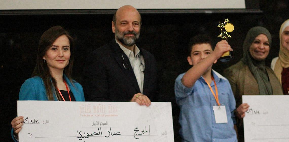 ProgressSoft、リトルリーグ プログラミング コンテストの勝者を祝福