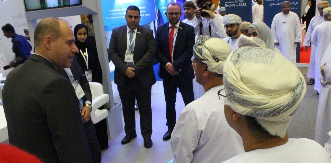 ProgressSoft Conclui Participação na Feira de Emprego da Universidade do Sultão Qaboos em Omã