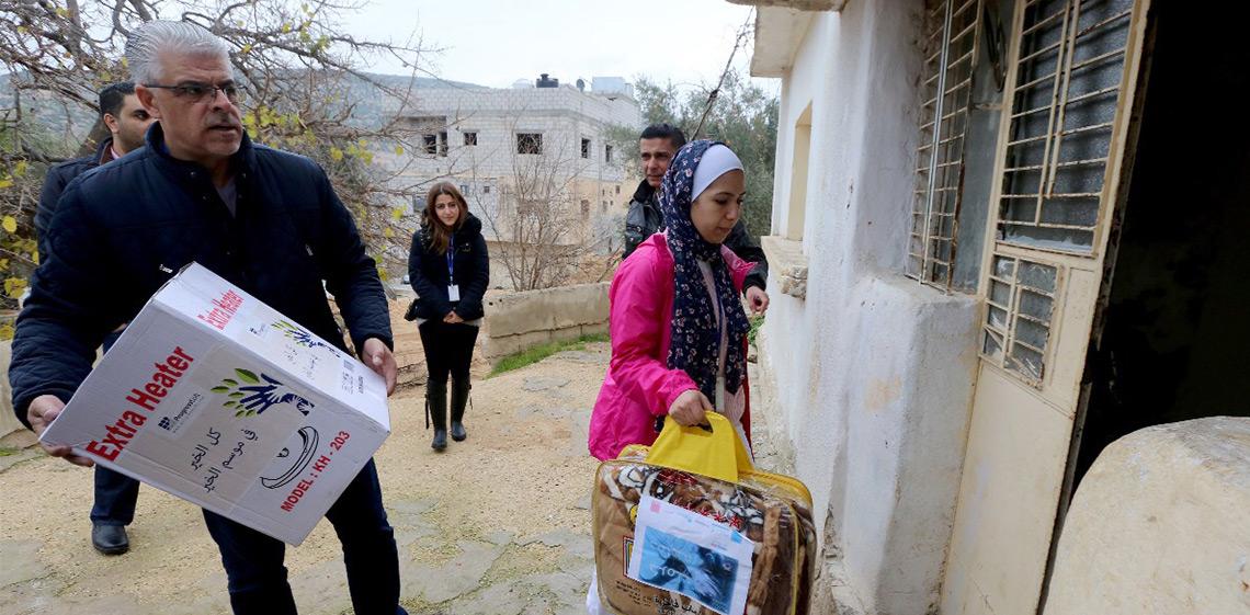 ProgressSoft parraine la campagne caritative hivernale  « Karamak Dafahom » en Jordanie