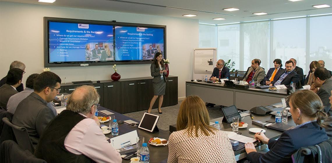 Una delegación de profesores de ingeniería de software de todo el mundo visitaron las instalaciones de ProgressSoft