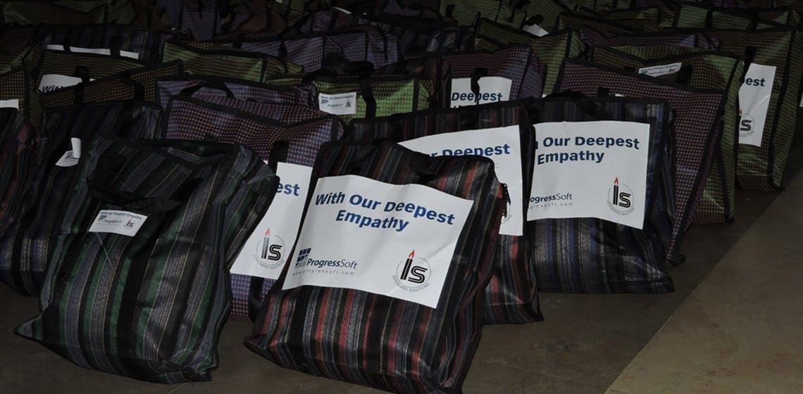 ProgressSoft と Integrated Solutions 株式会社  ネパールで地震救済活動を支援