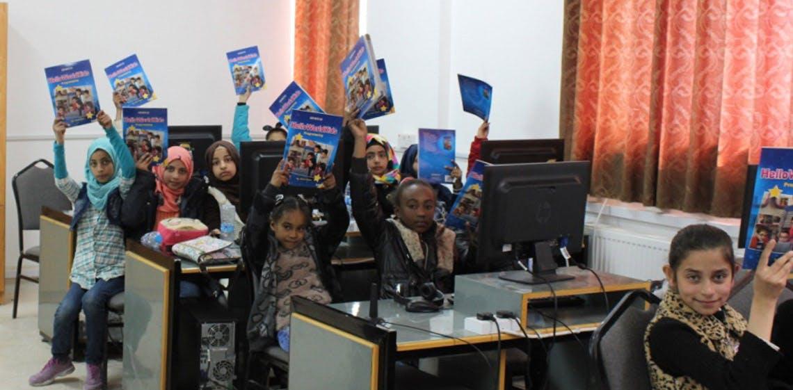 ProgressSoft celebra con los ganadores del concurso de programación de la Liga Infantil