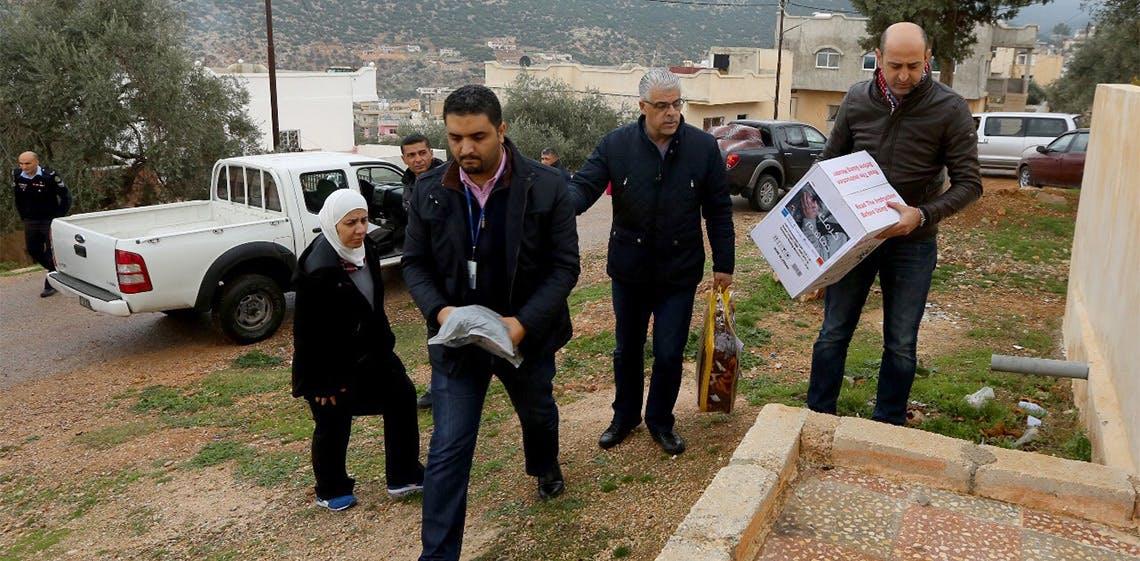 """ProgressSoft patrocina a campanha de caridade de Inverno """"Karamak Dafahom"""" na Jordânia"""