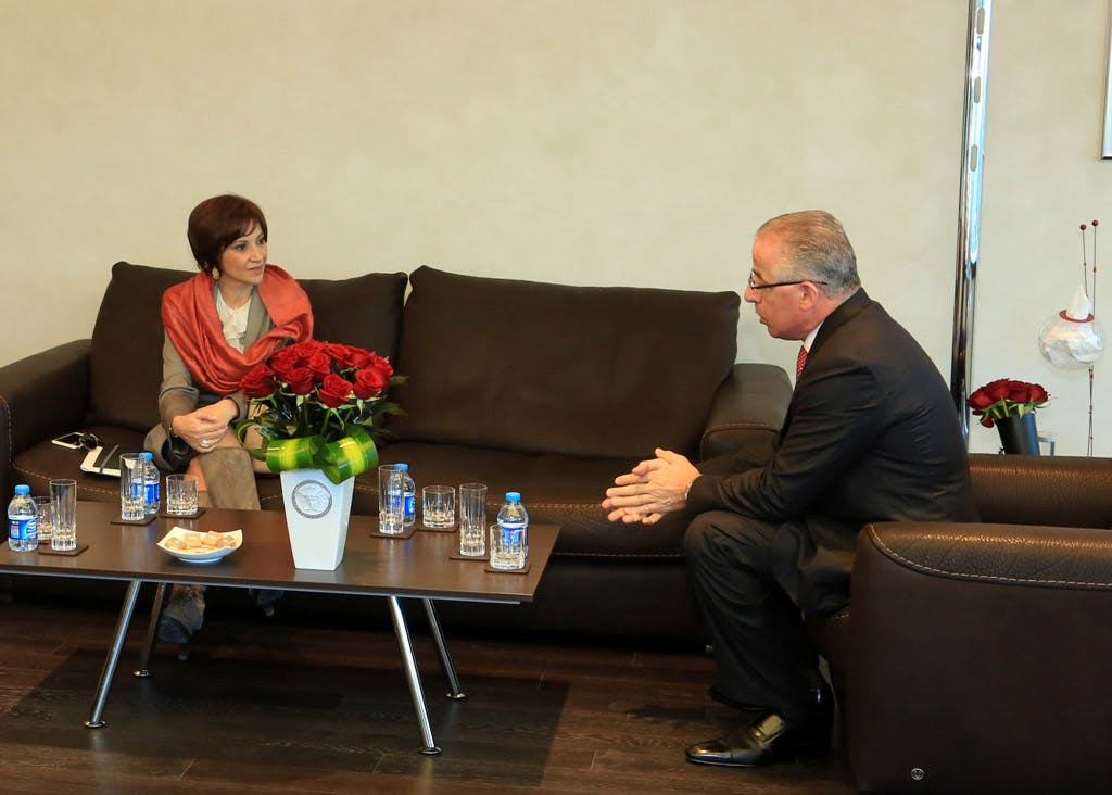 Jordan's Minister of Information and Communications Technology Visits ProgressSoft Corporation