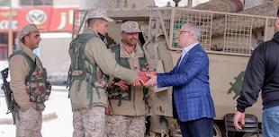 ProgressSoft und das Ministerium für digitale Wirtschaft und Unternehmertum (MoDEE) zeigen den Streitkräften und der Polizei Jordaniens Ihre Dankbarkeit